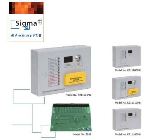 Sigma SI устройства индикации состояния тушения