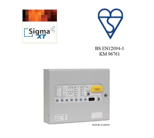 Sigma XT приемно-контрольная панель огнетушащего агента